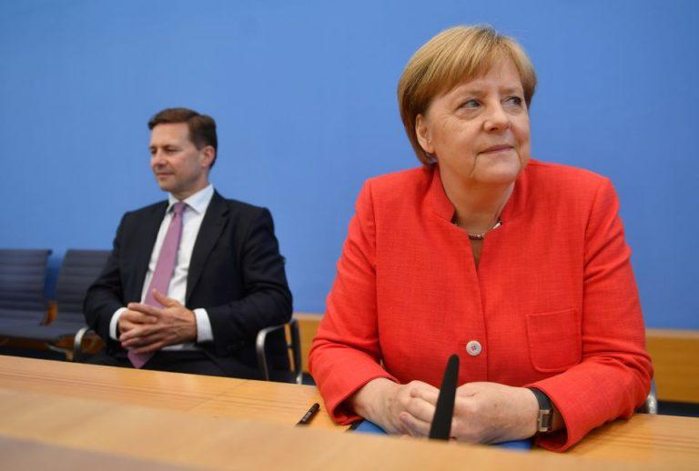 Seibert und Merkel