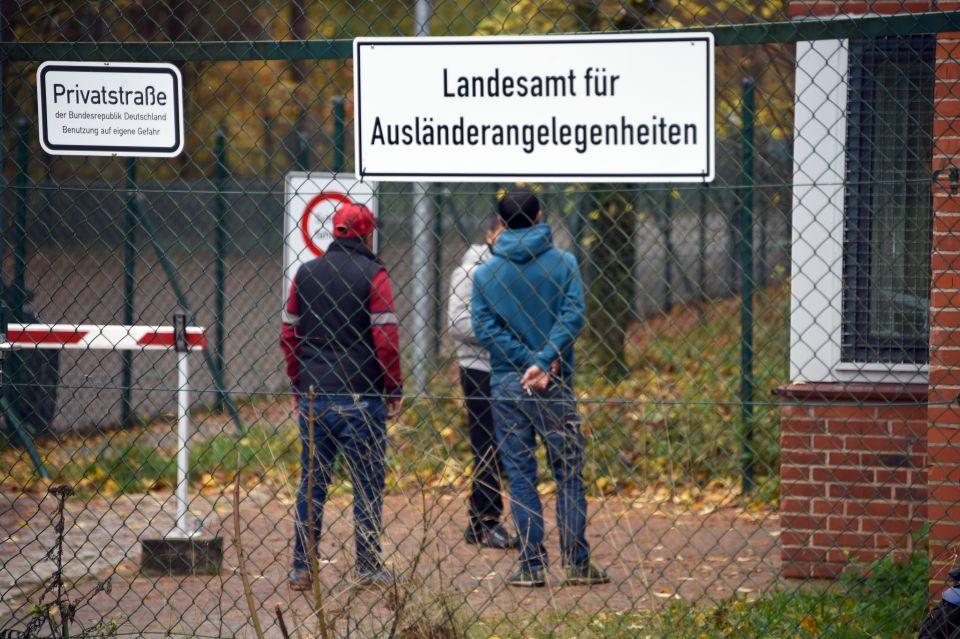 Flüchtlinge in Boostedt
