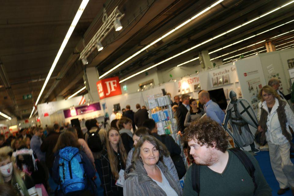 JF auf der Frankfurter Buchmesse