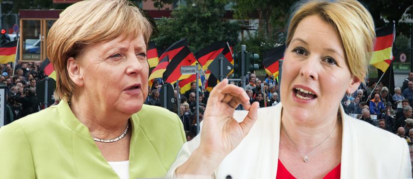 Angela Merkel und Franziska Giffey