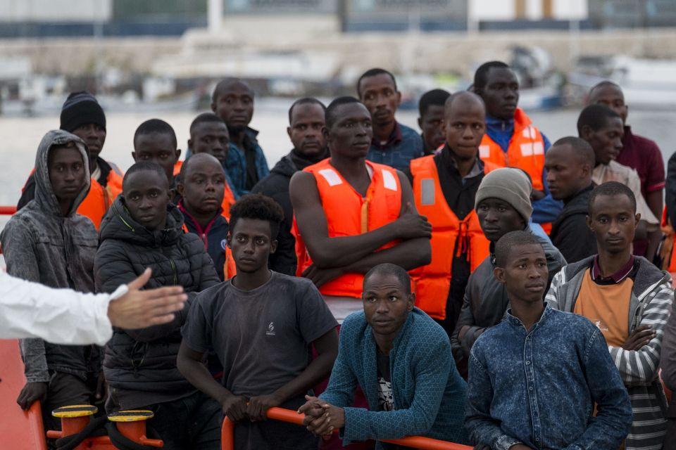 Afrikanische Einwanderer