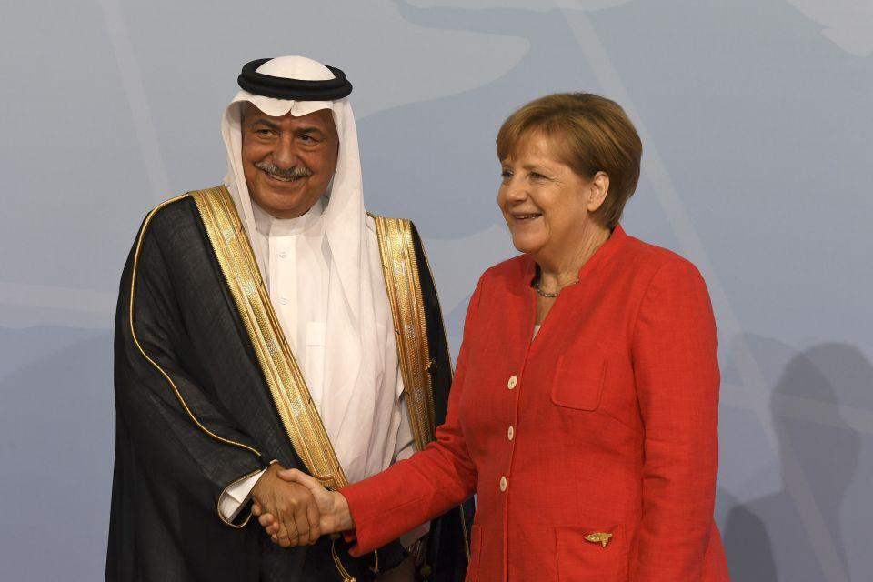Merkel Saudis