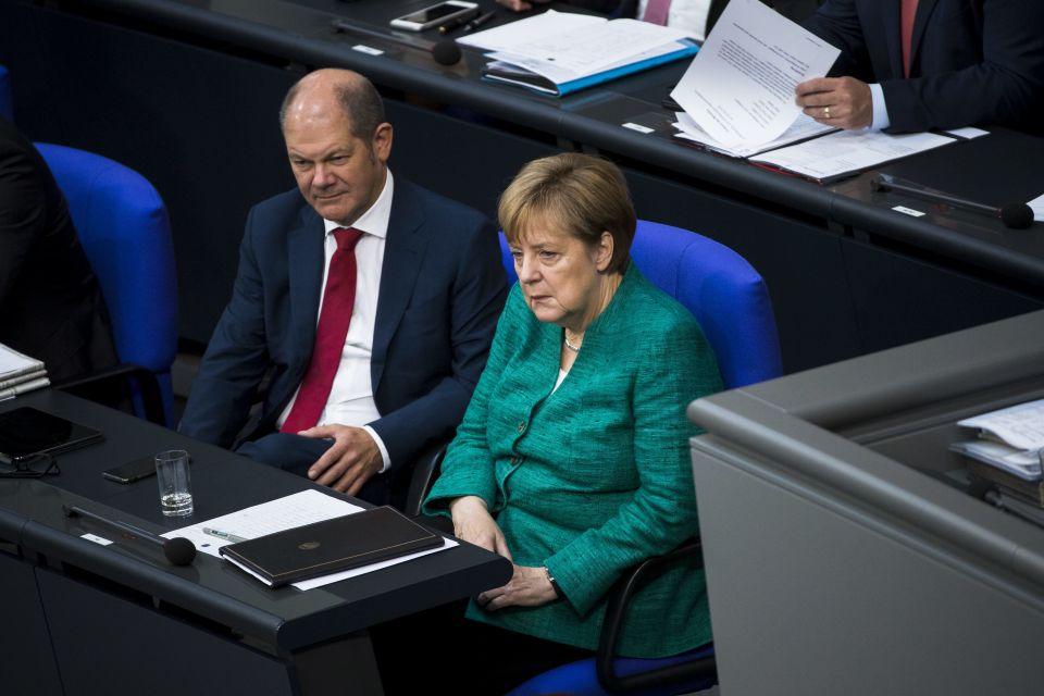 Nahles:Merkel