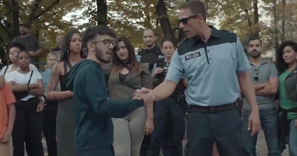 Polizei-Rap