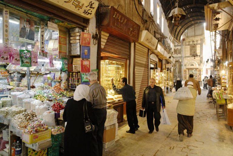 Bazar in Damaskus