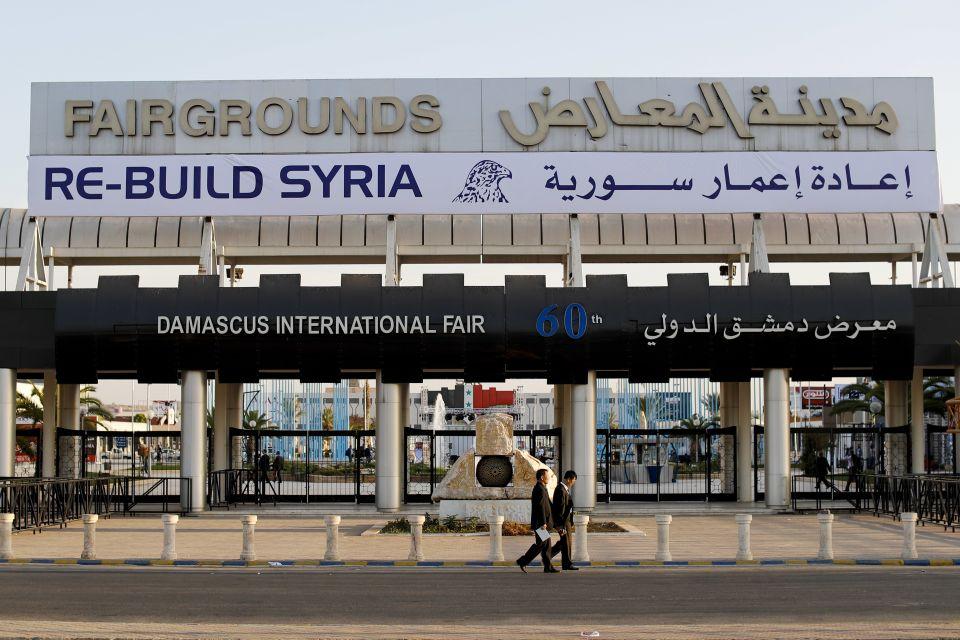 Messe zum Wiederaufbau Syriens