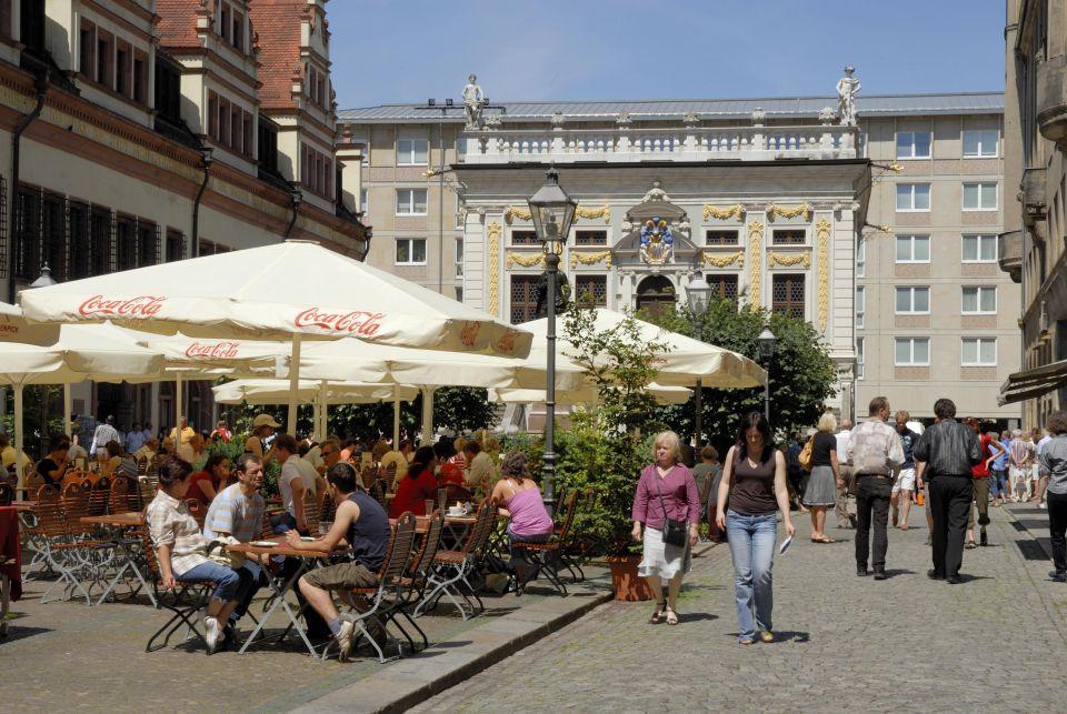 Naschmarkt in Leipzig
