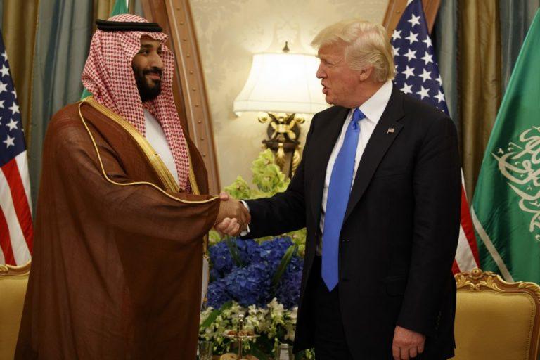 bin Salman: Trump