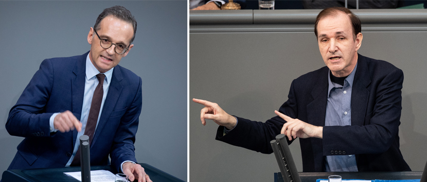 Heiko Maas (SPD), Gottfried Curio (AfD)