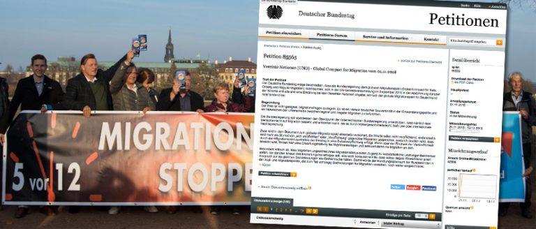 Petition gegen UN-Migrationspakt