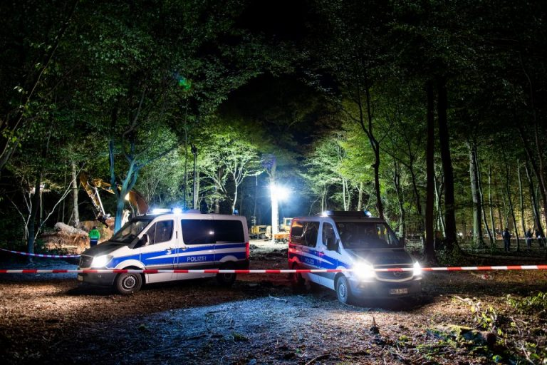 Polizei im Hambacher Forst