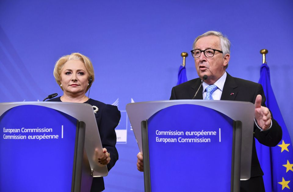 Juncker und Dancila