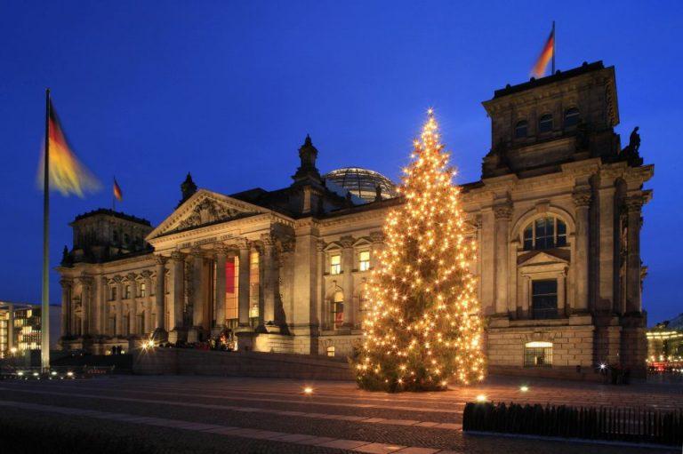 Weihnachten im Reichstag