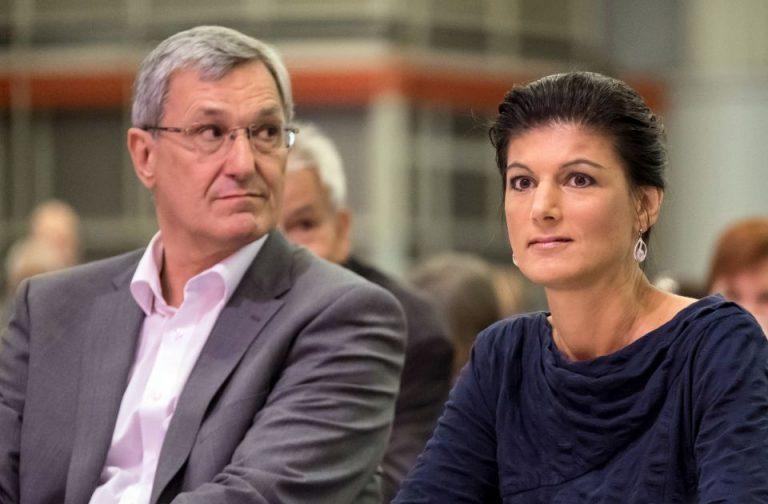 Bernd Riexinger und Sahra Wagenknecht