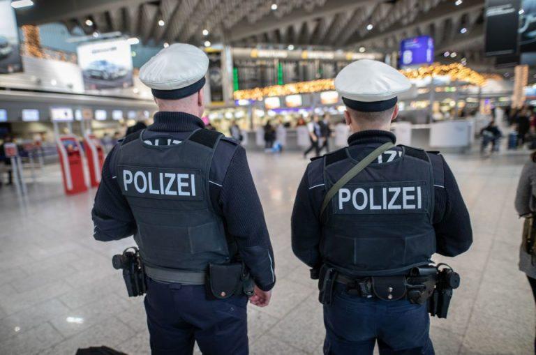 Flughafen Frankfurt Bundespolizei