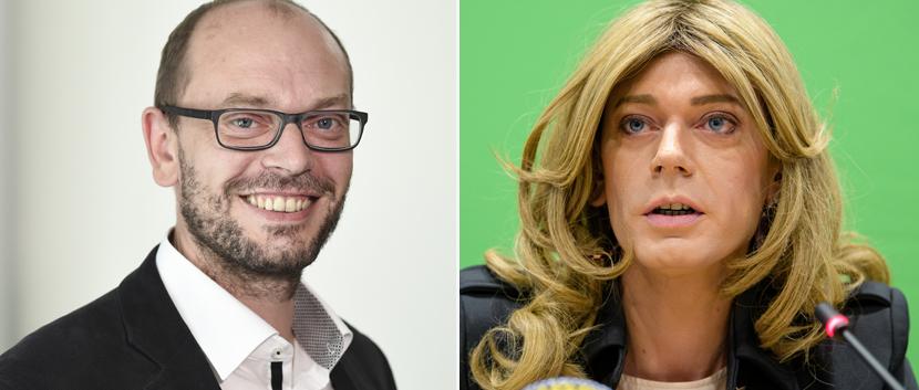 Markus und Tessa Ganserer (Grüne)