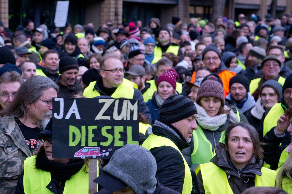 Diesel-Proteste