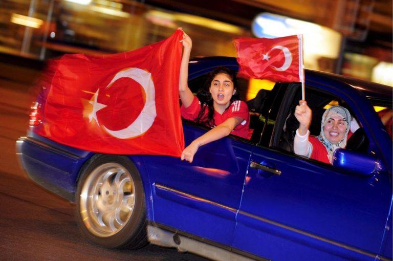 Türkische Fans