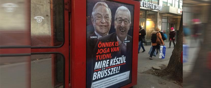 Medienkampagne der ungarischen Regierung