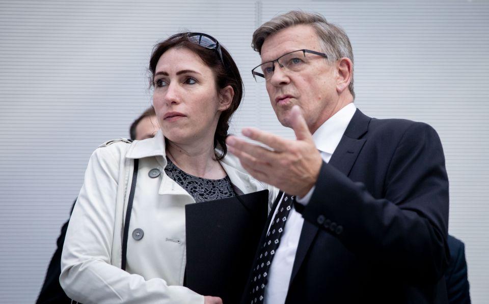 Mariana Harder-Kühnel und Gerold Otten
