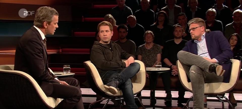 Markus Lanz, Kevin Kühnert, Guido Reil