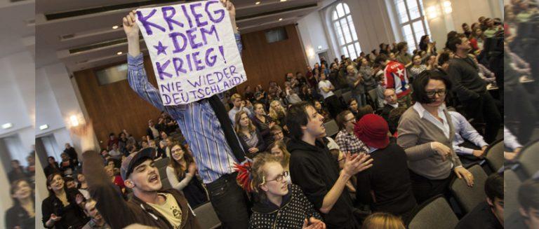 Linksgerichtete Studenten