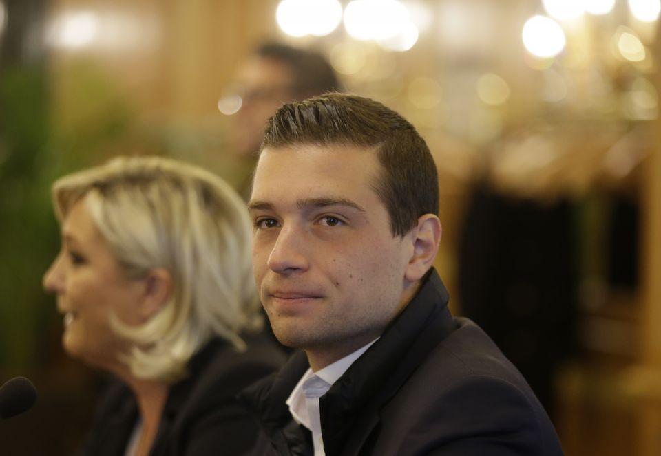 Jordan Bardella und Marine Le Pen