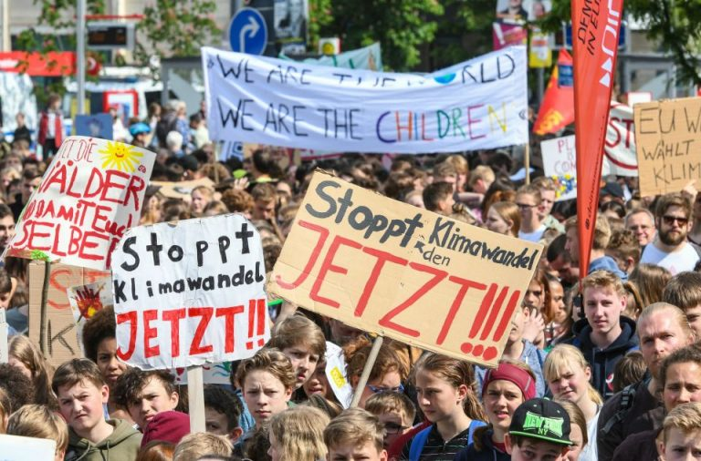 """Fridays for Future""-Demonstration in Freiburg"