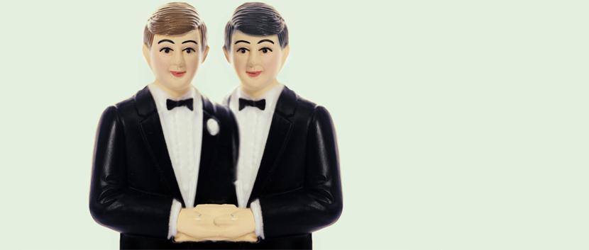 Schwules Hochzeitspaar