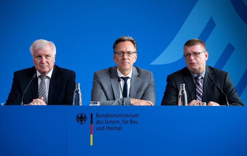 Horst Seehofer, Holger Münch und Thomas Haldenwang
