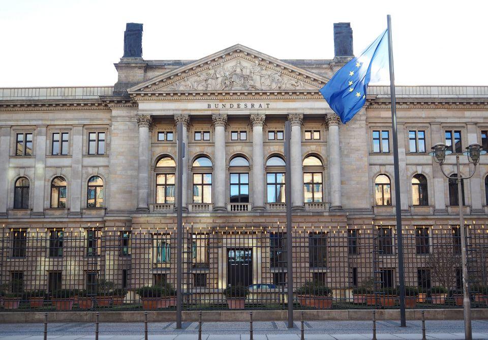 EU-Fahne Bundesrat