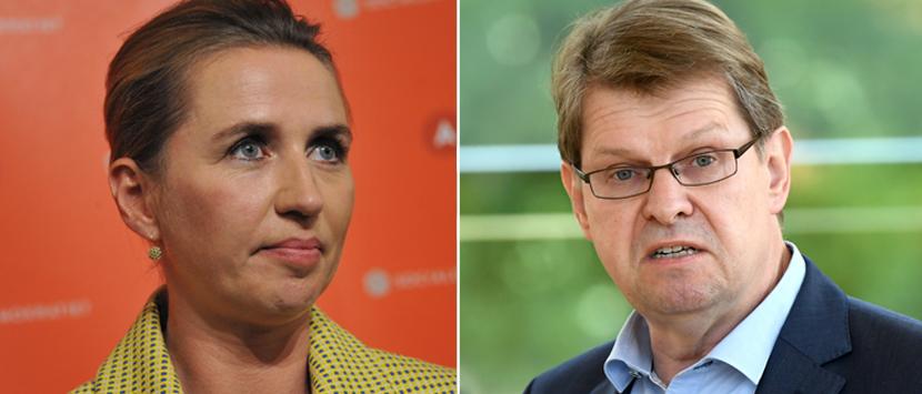 Mette Frederiksen und Ralf Stegner