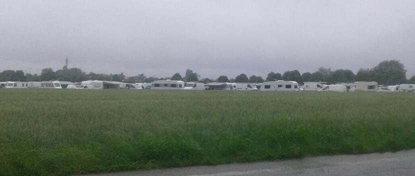 Zigeunerlager in Rambouillet