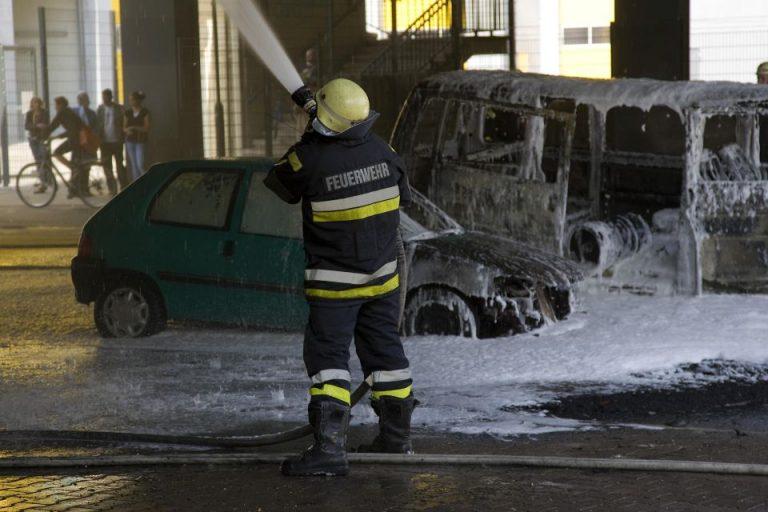 brennende Autos Berlin