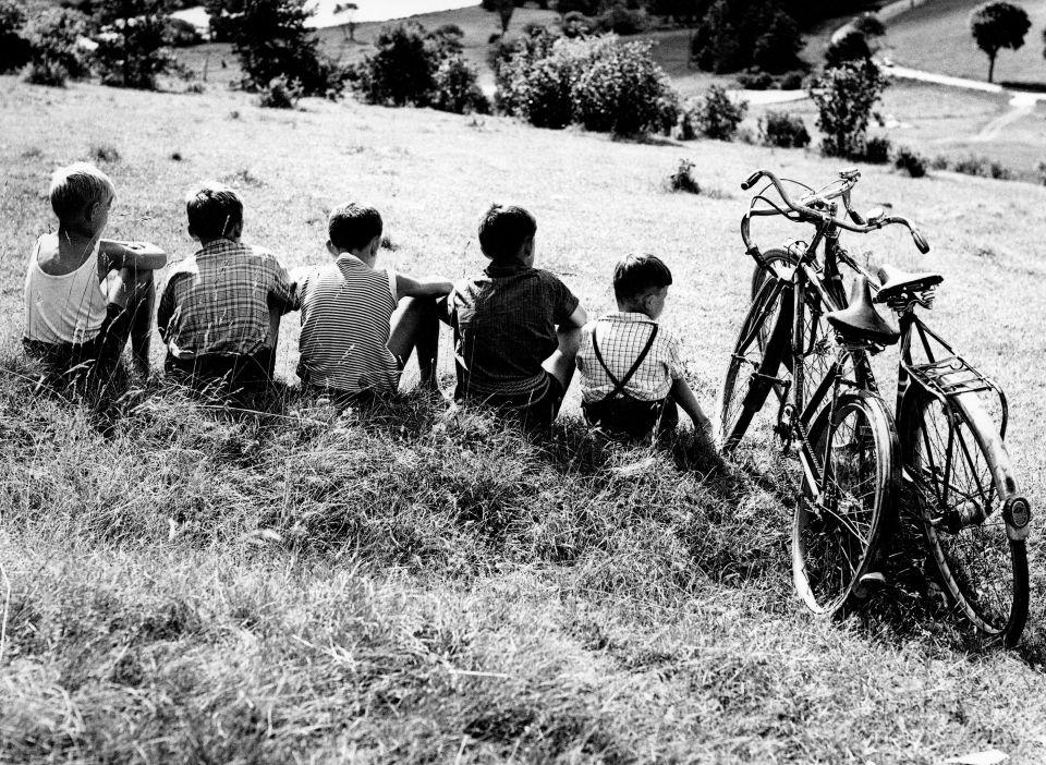 Kinder in den 50ern