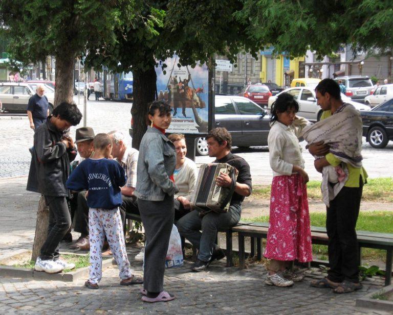 Romani_people_Lviv_Ukraine