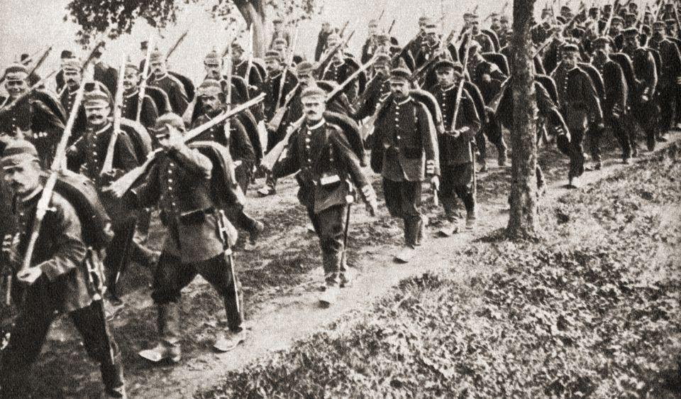 Belgien deutsche Truppen