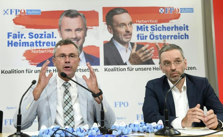 Norbert Hofer und Herbert Kickl