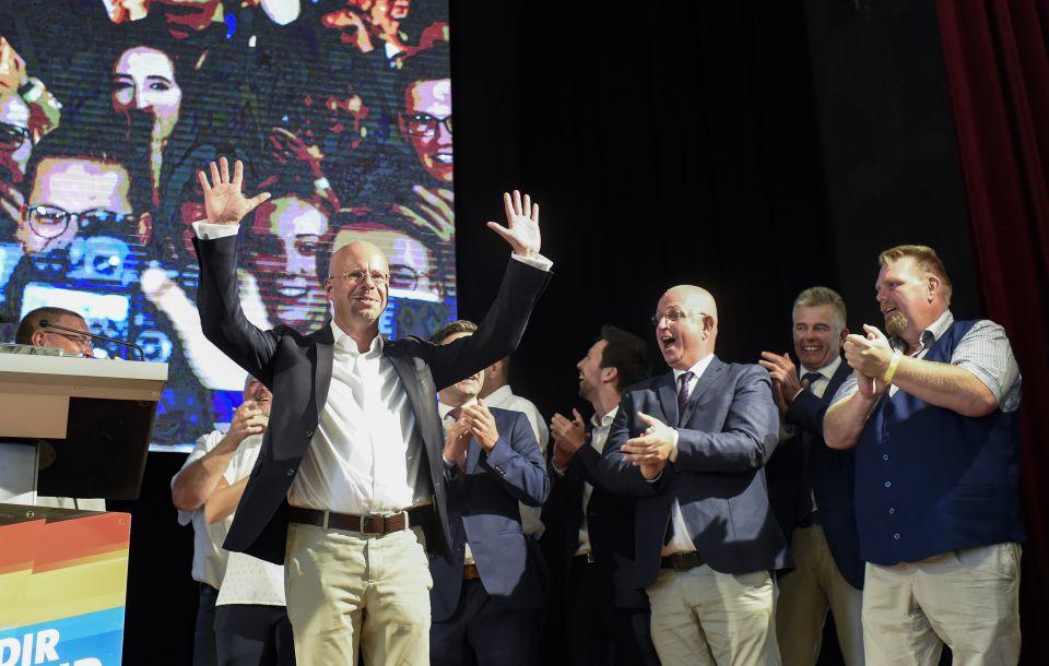 Jubel über Brandenburgwahl