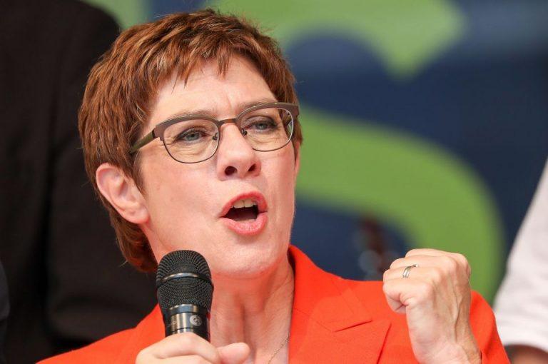 CDU-Chefin Annegret Kramp-Karrenbauer: Frauenquoten seien ein wichtiger Schritt auf dem Weg zur Chancengleichheit in Deutschland