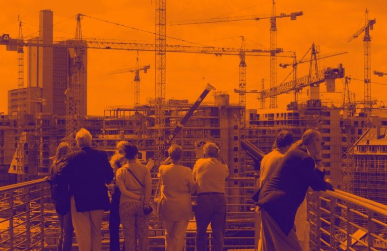 Baustelle am Potsdamer Platz