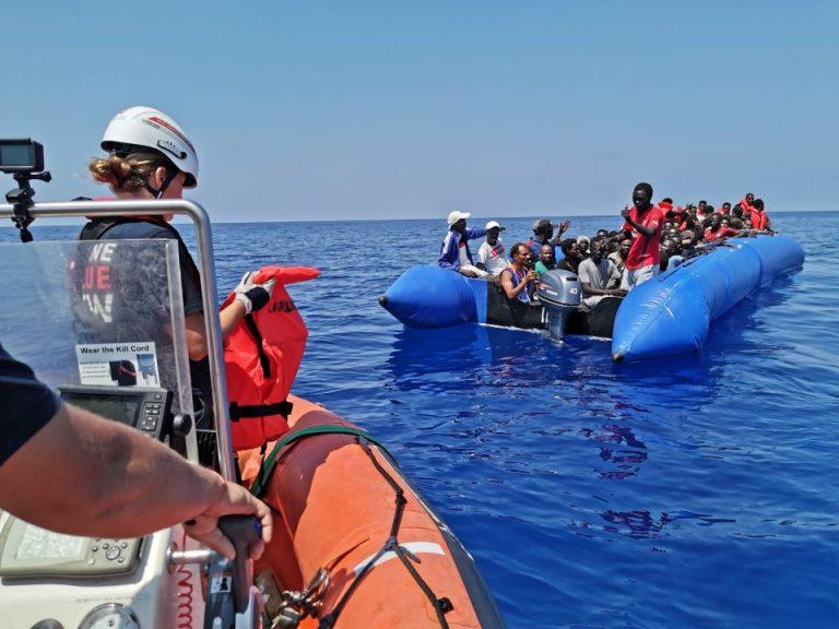 Mittelmeer Migranten