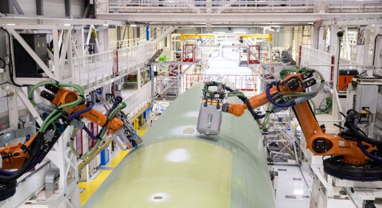 Roboter bei Airbus