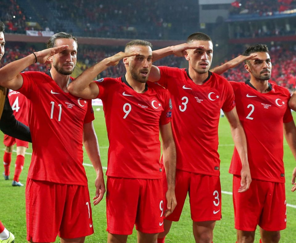 Türkische Nationalmannschaft