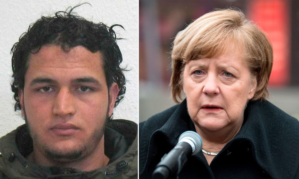Anis Amri,Kanzlerin Angela Merkel (CDU)