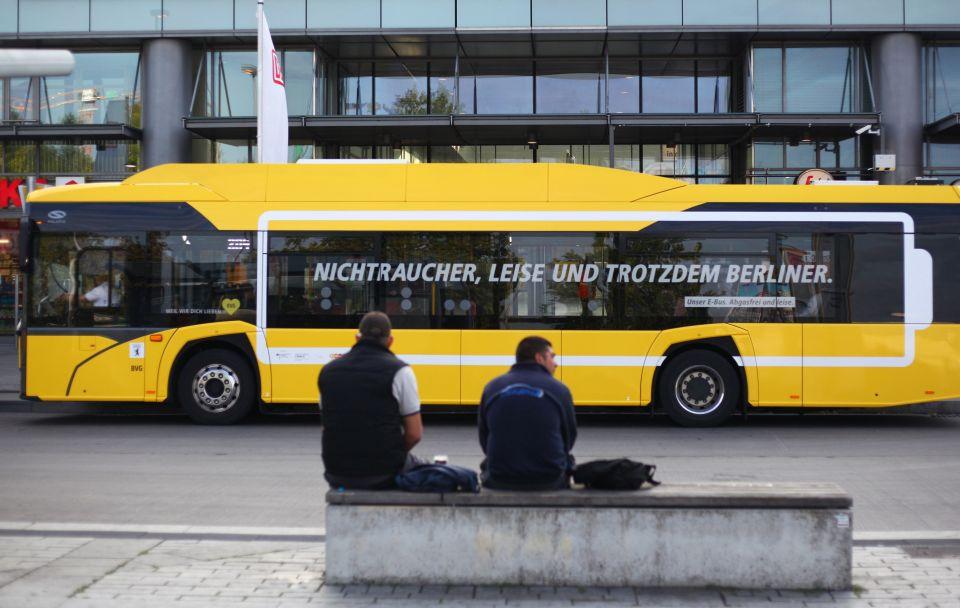 Diesel-Bus der BVG