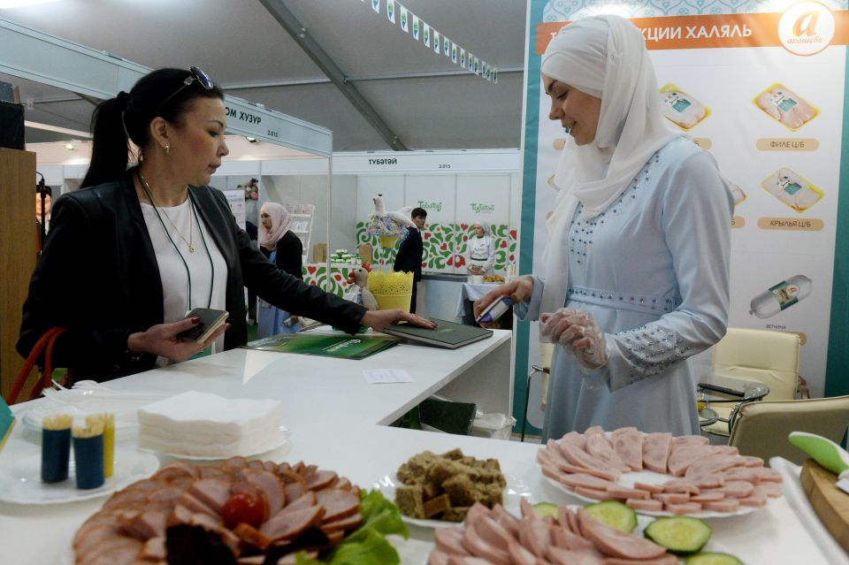 Halal-Stand