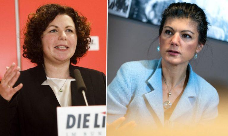 Amira Mohamed Ali und Sahra Wagenknecht