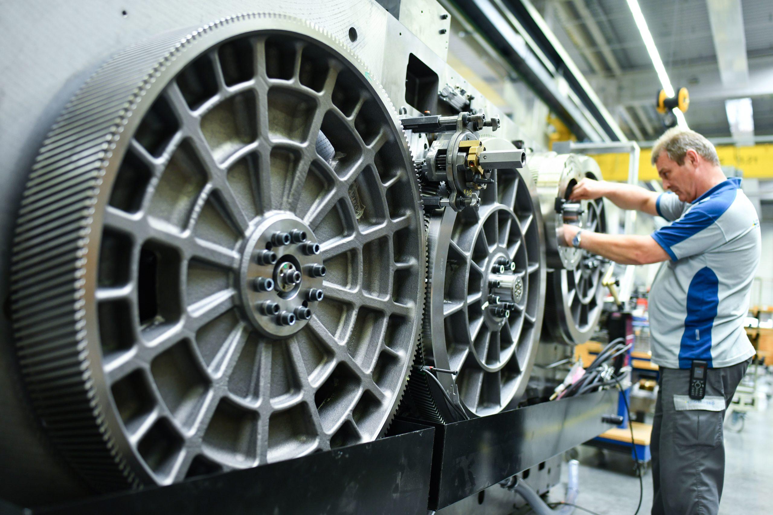 Maschinenbau: Weiterhin größter industrieller Arbeitgeber Foto: picture alliance/Uwe Anspach/dpa