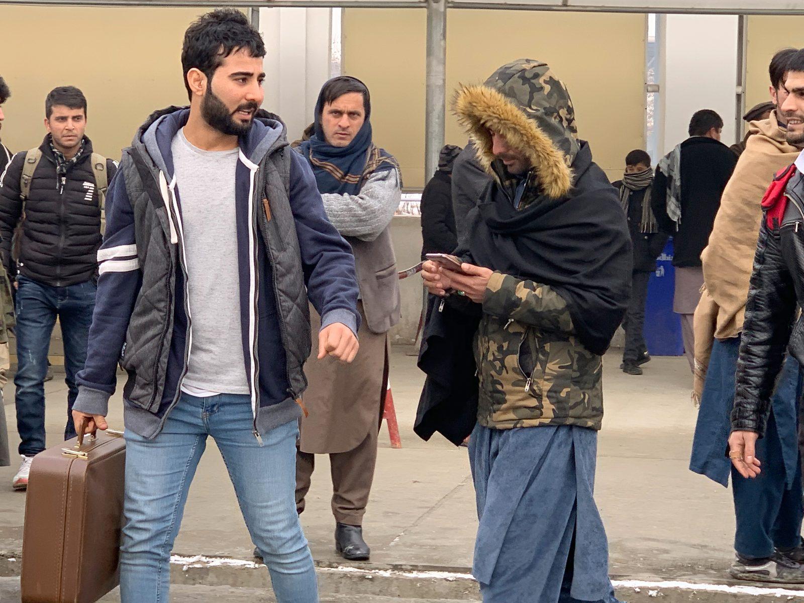 Abgeschobene Afghanen